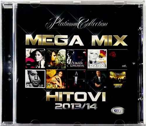CD MEGA MIX HITOVI 2013/2014 ceca aca lukas dara tropico band ana nikolic adil