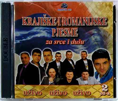 2CD KRAJISKE I ROMANIJSKE PJESME  ZA SRCE I DUSU UZIVO compilation 2015 narodna