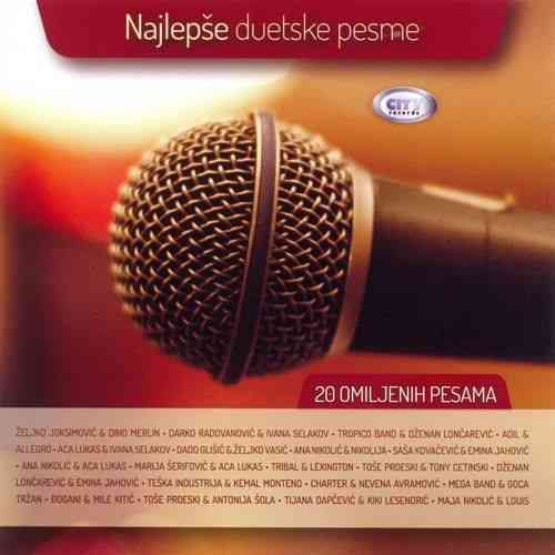 CD NAJLEPSE DUETSKE PESME   COMPILATION 2013 serbia bosnia croatia city records