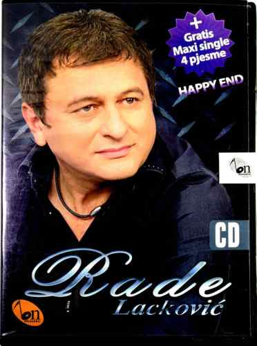 CD RADE LACKOVIC HAPPY END + GRATIS MAXI SINGLE 4 PJESME folk balkan bosna pesma