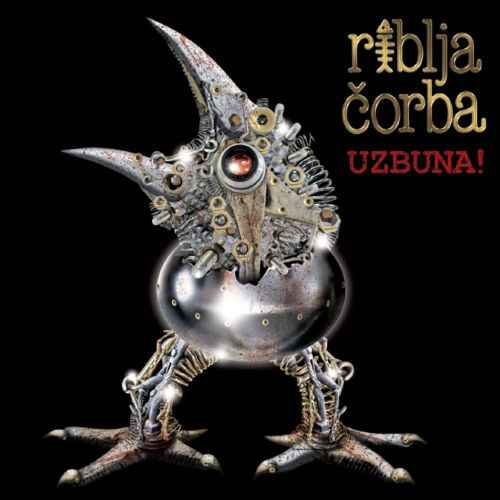 CD RIBLJA CORBA  UZBUNA  ALBUM 2012 serbia bosnia croatia city records