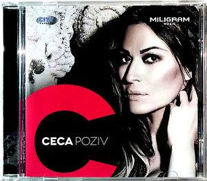 CD SVJETLANA RAZNATOVIC CECA POZIV ALBUM 2013 digipack croatia city records