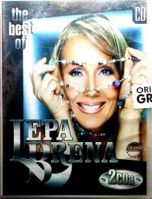 2CD LEPA BRENA THE BEST OF compilation 2003 Srbija, Bosna, Hrvatska grand folk