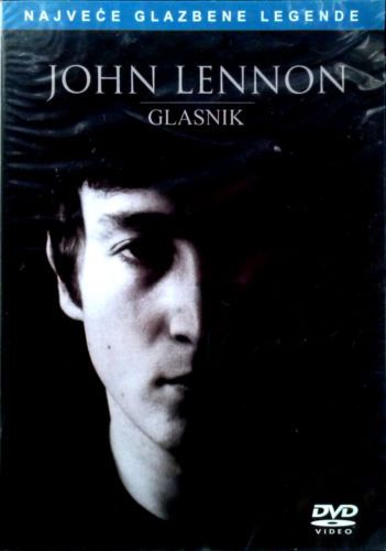 DVD JOHN LENNON  GLASNIK the messenger 2008 Serbia, Bosnia, Croatia Beatles