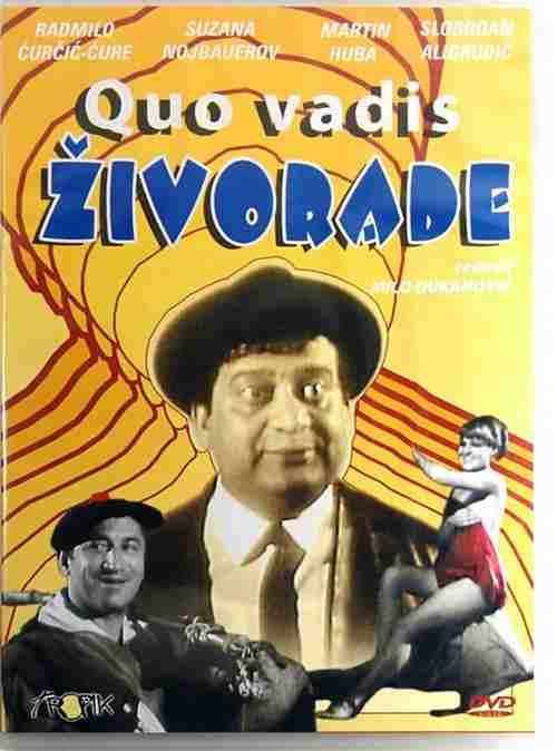 DVD QUO VADIS ZIVORADE film 1968 Mija Aleksic Martin Huba Slobodan Aligrudic