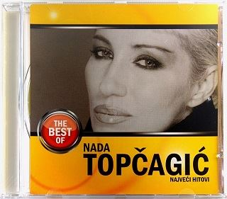 CD NADA TOPCAGIC NAJVECI HITOVI THE BEST OF compilation 2008 PGP RTS srbija folk