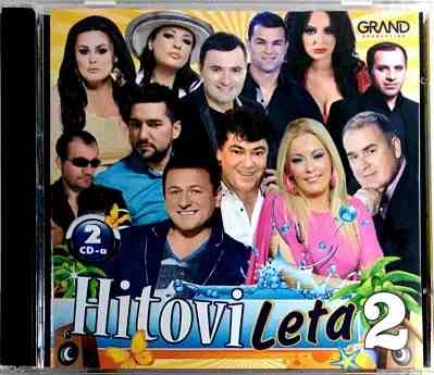 2CD HITOVI LETA 2 Grand compilation 2016 halebic markovic krecar muharemovic