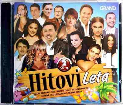 2CD HITOVI LETA 1 Grand compilation 2016 keba halebic jovic vasiljevic lackovic