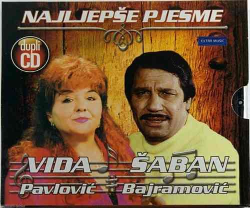 2CD NAJLJEPSE PJESME VIDA PAVLOVIC SABAN BAJRAMOVIC srbija hrvatska bosna narodn