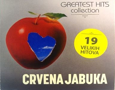 CD CRVENA JABUKA GREATEST HITS COLLECTION 2016 tugo nesreco bjezi kiso s prozora