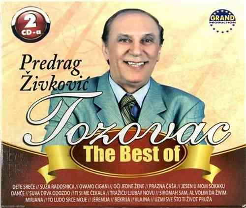 2CD PREDRAG ZIVKOVIC TOZOVAC THE BEST OF grand 2013 narodna muzika srbija bosna