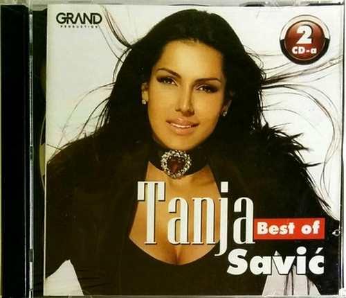2CD TANJA SAVIC BEST OF compilation 2017 folk srbija narodna muzika novo grand