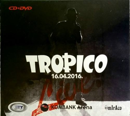 CD+DVD TROPICO 16.04.2016 KOMBANK ARENA city records zabavna muzika srbija 2017