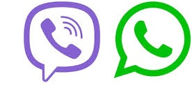 Viber, WhatsApp